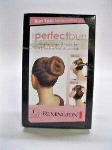 Remington SB1W1BRA The Perfect Bun, Brunette Black