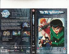 Yu YU Hakusho:Ghost Files:6-1992/05-TV Series Japan-3 Episodes-DVD