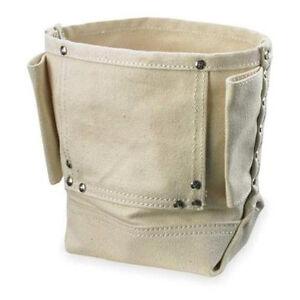 CLC Custom LeatherCraft 914 - Canvas Nut Bolt Nail Bag Belt Pouch Carrier Holder