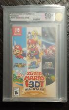 Super Mario 3D All-Stars - Nintendo Switch VGA Graded 90+ NEAR-MINT!