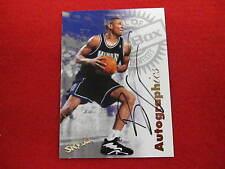 1997  Autographics Brian Grant   autograph basketball card Kings  signature
