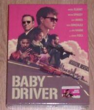 Baby Driver (blu-ray) Steelbook - Filmarena (Full slip). NEW & SEALED.