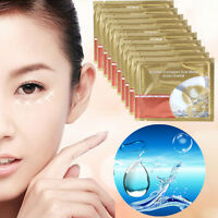 5/10 Pair Crystal Collagen Eye Mask Eyelid Patch Moisture Anti Aging Wrinkle Bag