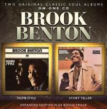 Brook Benton - Home Style / Story Teller - New 2 on 1 Expanded CD