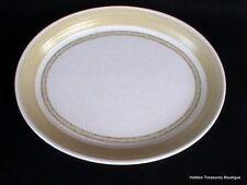 "Franciscan Earthenware Hacienda Green 13"" Platter Floral Geometric Design"