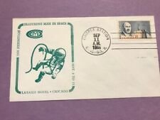 Space Covers not FDC #C69 Man in Space COMPEX Chicago 1966   L836