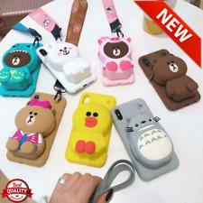 Cute cartoon bear wallet phone case Original Quality (discount.store.1)