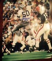 D.D. Lewis Autographed Dallas Cowboys Photo 8x10 Holo