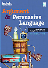 Insight Argument and Persuasive Language Print Only