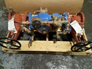 Zurn Wilkins Model 375DA Reduced Pressure Detector Backflow Preventer