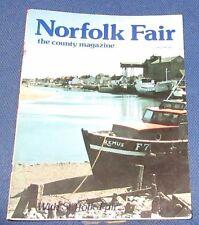 NORFOLK FAIR MAGAZINE MAY 1981 - SPROWSTON/THORPE/CAWSTON