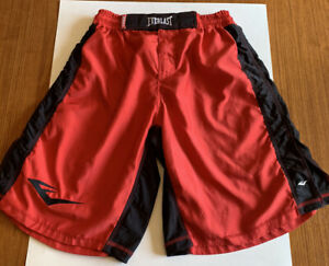 Everlast wrestling Boxing MMA shorts Red Size 42  Trunks UFC Martial Arts Fight
