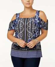 I.N.C. Cold-Shoulder Top, Created for Macy's XLarge XL