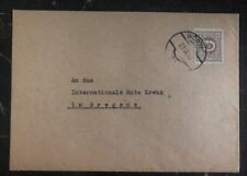 1945  Wörgl Austria Post WWII Cover to The Red Cross In Bregenz