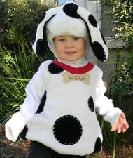 POTTERY BARN KIDS PUPPY DALMATIAN DALMATION DOG HALLOWEEN COSTUME 6-12 MONTHS