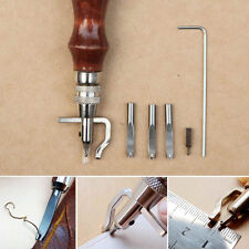 5 In1 Leathercraft Stitching Groover Skiving Edger Beveler Leather Working Tools