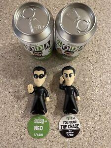 Funko Soda! THE MATRIX - NEO (ON THE PHONE) 1/800 CHASE & COMMON Figures