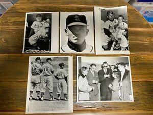 Eddie Stanky 8x10 press photos (7) The Sporting News TSN St. Louis Cardinals