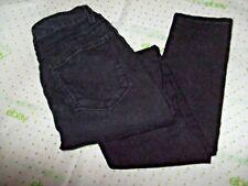 $64 FOREVER 21 SIZE 26 JUNIOR GIRL BLACK WASH SLIM ANKLE jeans MEASURED 26/27