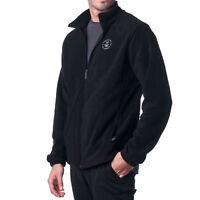 Hammer Anvil Mens Full Zip Up Polar Fleece Jacket Lightweight Warm Zipper Coat