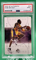 2000 SP Authentic Basketball Kobe Bryant #39 🔥 PSA 9 🔥 HOF LAKERS