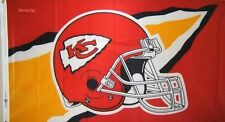 NFL Kansas City Chiefs 3' x 5' Banner Flag, NEW