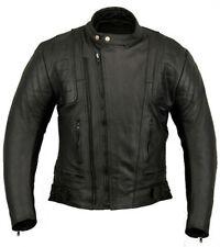 Blousons noirs pour motocyclette Homme taille XXL