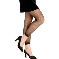 Footless Fishnet Tights Costume Accessory