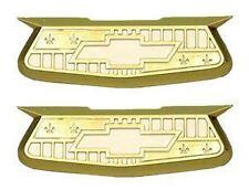 55 56 57 Chevy Bel Air Crest Emblems *NEW* 1955 1956 Chevrolet Danchuk Brand