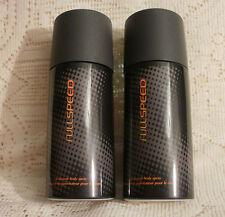 2 x AVON FULL SPEED DEODORANT BODY SPRAYS FOR MEN ~ 150ml ~ NEW
