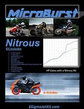 6 Sigma Yamaha AG 175 E Farm Bike NOS Nitrous Oxide Kit & Boost Bottle