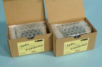 A Pair of Hashimoto HM-3 MC Step-Up transformers for Denon Ortofon Cartridge