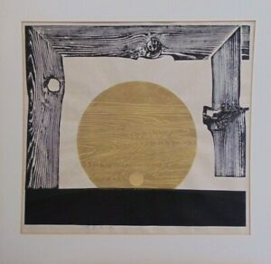 REIKA IWAMI Contemporary Japanese Woodblock Print SIGNED & NUMBERED 7/50 [1973]