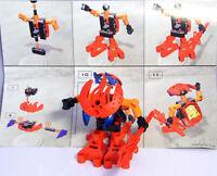 LEGO Bionicle Technic Figur 8554 Thanok Va komplett mit Bauplan #17