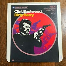 Selectavision Disc ~ Dirty Harry ~ Eastwood ~
