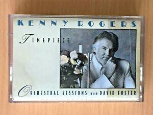 KENNY ROGERS Timepiece PHILIPPINES PAPER LABEL CASSETTE TAPE