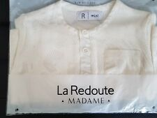 La Redoute white baby t shirt 3 months