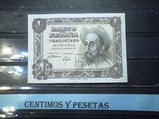 CyP Billete 1 Peseta Quijote del 1951