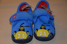 Baby Boy/Todler Blue Car Slippers size 5/ UK 21 1/2 from Next*New with Tag**