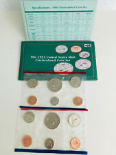 1993  UNCIRCULATED COIN SET - US MINT - AS PICTURED