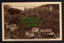 121196 AK Ossegg Osek Riesenburg Riesenberg Alte Burg 1928