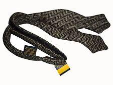 Ralph Lauren Rugby Herringbone Tweed Run Bow Tie Polo Rare Vintage