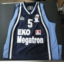 ADMIRAL O.KA.B. #5 EKO MEGATRON Shirt Jersey BASKETBALL size XL GREECE GREEK !!!