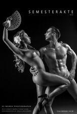 SEMESTERAKTE 2018 Erotik-Kalender A2  12 weibl/ u. 12 männl. Kunstakten + Titel