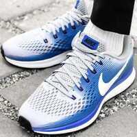 Nike Air Zoom Pegasus 34 880555-007 Size 8 9 10 11 12 Men's brand new shoes gray