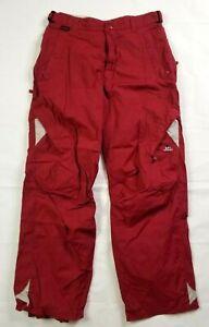 Limelight Enduratex 2000mm Red Snow Board Ski Pants Medium Waterproof