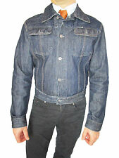 DIESEL Designer Men's Retro Denim Vtg 90s Authentic Blue Jeans Jacket sz M AO85