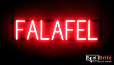 SpellBrite Ultra-Bright FALAFEL Sign Neon-LED Sign (Neon look, LED performance)