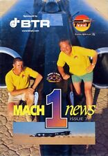 Richard Noble / Andy Green Thrust SSC Land Speed Record 7th Issue of Mach 1 News
