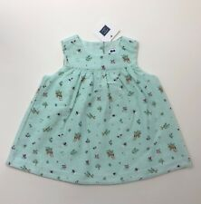 NWT JANIE AND JACK Orchard Blossom Soft Corduroy Jumper Dress Size 6-12 Months